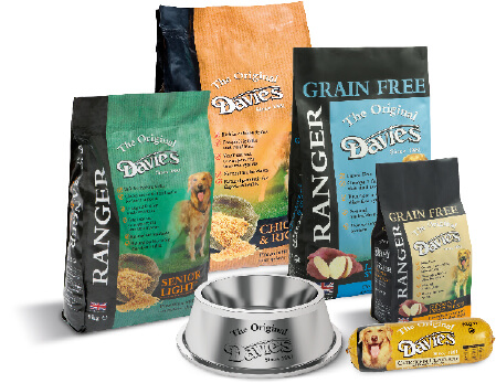 The original and best nutrition for dogs